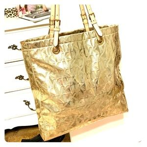 Michael Kors Gold Purse/ handbag